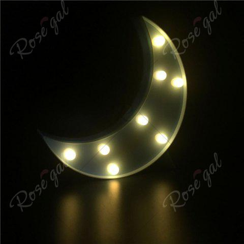 Outfits Home Decor LED Moon Table Night Light - BLUE  Mobile