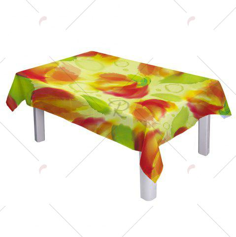 Best Washable Fabric Table Cover Kitchen Decoration - W60 INCH * L84 INCH COLORMIX Mobile
