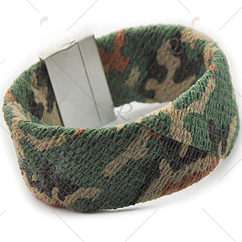 Discount Camouflage Pattern Wide Bracelet - ACU CAMOUFLAGE  Mobile