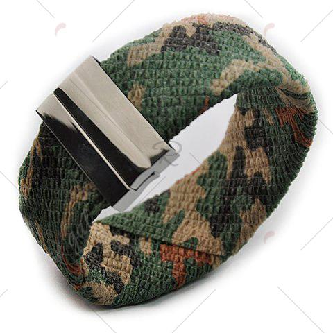 Outfits Camouflage Pattern Wide Bracelet - ACU CAMOUFLAGE  Mobile