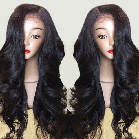 Affordable Long Side Part Layered Body Wave Lace Front Synthetic Wig