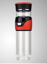 Glass Kung Fu Travel Tea Bottle with Filter