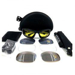 Outdoor Tactical Detachable Bike Glasses