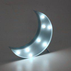 Home Decor LED Moon Table Night Light