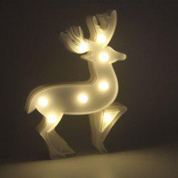 Milu Deer Marquee LED Night Light for Home Decor