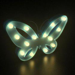 Home Decor Butterfly LED Night Light - BLUE