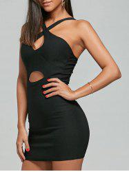 Night Out Club Cut Out Bodycon Dress