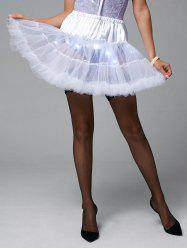 Light Up Ruffles Tutu Voile Cosplay Skirt