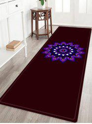 Mandala Pattern Anti-skid Water Absorbing Area Rug