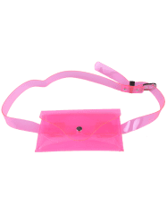 Snap Buton Jelly Color Sac à bandoulière portable