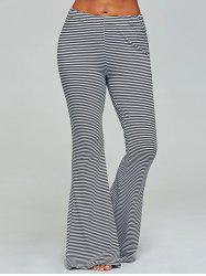 Wide Leg Striped Sleep Pants