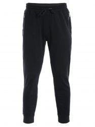 Zip Pockets Joggers Sweatpants