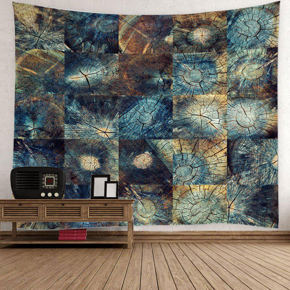 Latest Stump Texture Fabric Throw Wall Hanging Tapestry