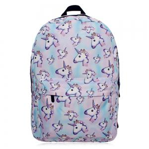 Unicorn Printed Backpack