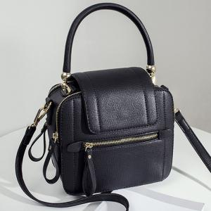 Top Handle Zippers Handbag