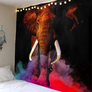 Elephant Decorative Wall Hanging Tapestry - Colorful - W79 Inch * L59 Inch