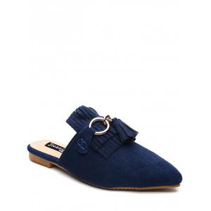 Tassels Pointed Toe Slippers