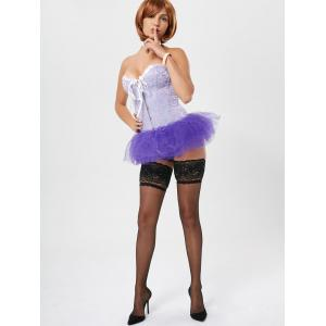 Tier Mesh Light Up Tutu Cosplay Skirt -