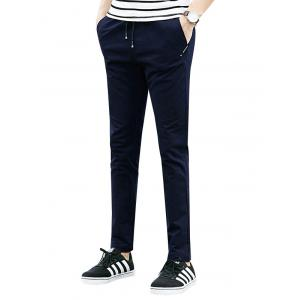 Drawstring Multi Pockets Design Casual Pants