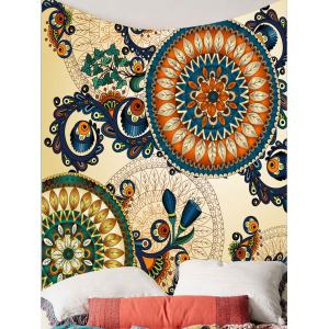 Home Decor Floral Print Wall Hanging Tapestry -