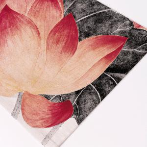 Chinese Lotus Dining Decor Heat Insulated Placemat - COLORMIX PATTERN 4