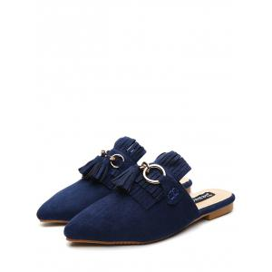 Chaussons Pointe Toe Chintillons - Bleu 39