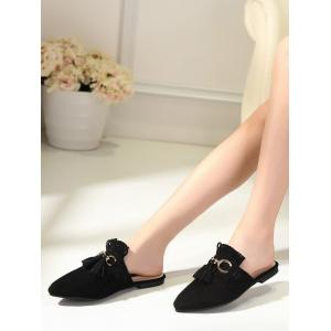 Chaussons Pointe Toe Chintillons - Noir 39