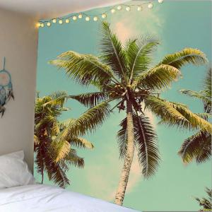 Home Decor Coconut Tree Print Wall Hanging Tapestry