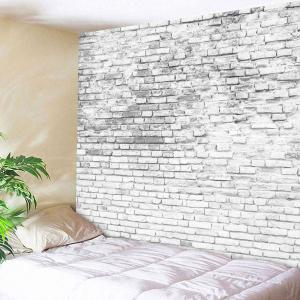 Stone Brick Wall Hanging Decorative Tapestry