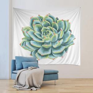 Wall Hanging Art Decoration Succulents Print Tapestry -