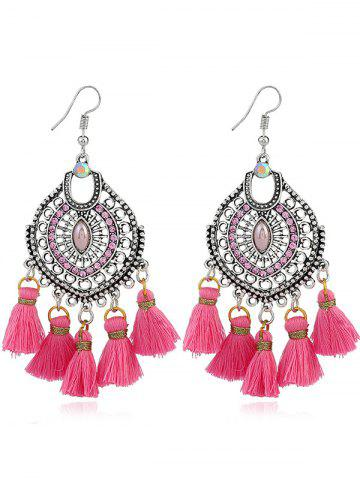 Shops Dreamcatcher Shape Tassel Pendant Hook Earrings
