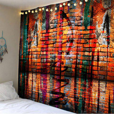 Outfits Brick Wall Waterproof Wall Hanging Tapestry