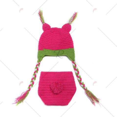 Store Knit Owl Baby Photography Hat and Diaper - TUTTI FRUTTI  Mobile
