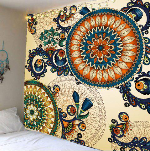 Shops Home Decor Floral Print Wall Hanging Tapestry