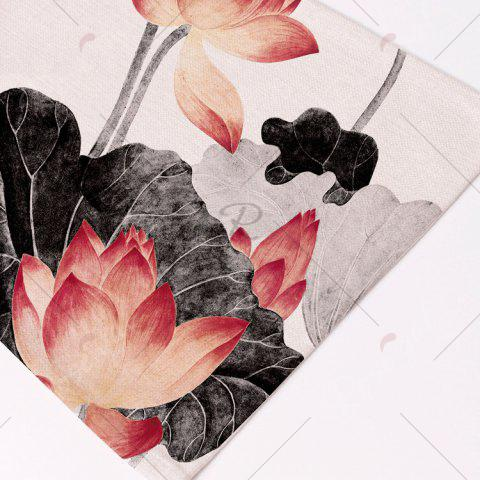 Shops Chinese Lotus Dining Decor Heat Insulated Placemat - PATTERN 8 COLORMIX Mobile
