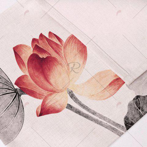 Buy Chinese Lotus Dining Decor Heat Insulated Placemat - PATTERN 1 COLORMIX Mobile