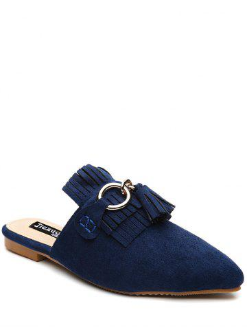 Chaussons Pointe Toe Chintillons Bleu 39