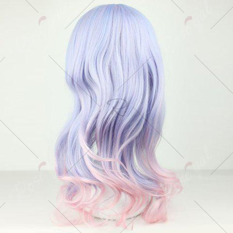 Best Long Full Bang Colormix Wavy Lolita Synthetic Wig - COLORMIX  Mobile