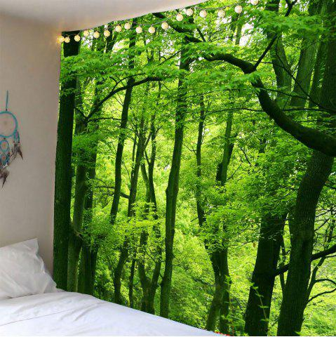 Store Home Decor Waterproof Forest Wall Hanging Tapestry