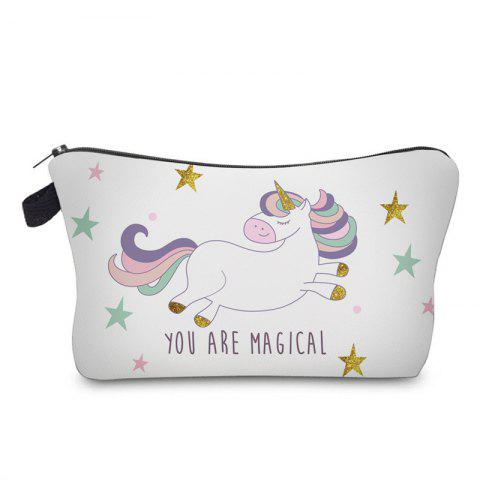 Sale Unicorn Print Makeup Bag