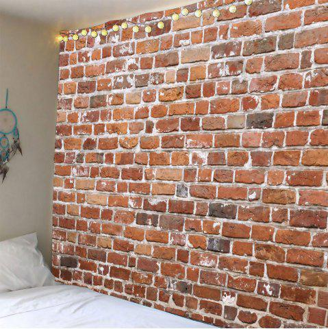 Brick Print Waterproof Wall Art Tapestry