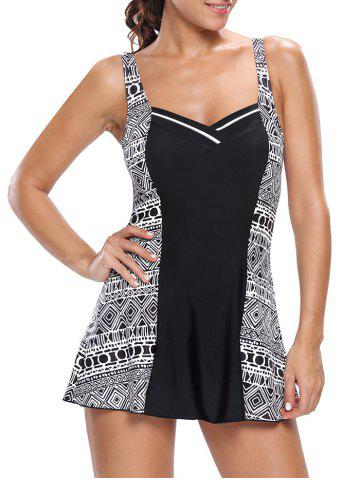 Online One Piece Skirted Swimsuit