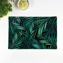 Greenery Print Kitchen Product Table Placemat - GREEN