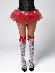 Tier Mesh Light Up Tutu Cosplay Skirt