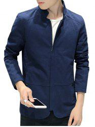 Strand Collar Zip Up Jacket