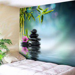 Wall Hanging Pond Print Tapestry