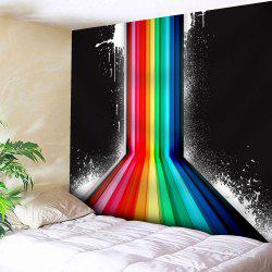Rainbow Color Printed Wall Hanging Tapestry