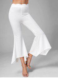 Scalloped Flare Pants