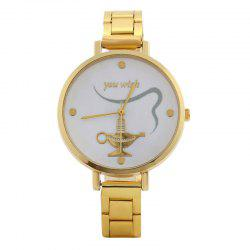 Aladdin lamp Face Alloy Watch