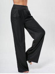 High Waisted Wide Leg Pants -